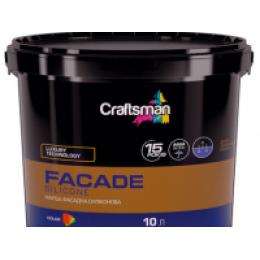 Краска фасадная силиконовая CRAFTSMAN FACADE SILICONE (14 кг)