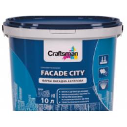 Краска фасадная акриловая Craftsman FACADE CITY (14 кг)